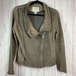 BUCKLE BKE outerwear moto jacket women's small